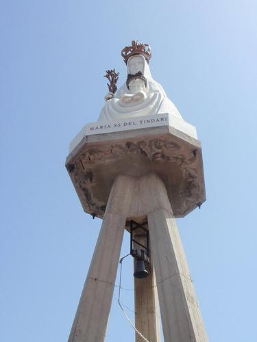 Campanile Santuario Madonna del Tindari  - Capri leone (168 clic)