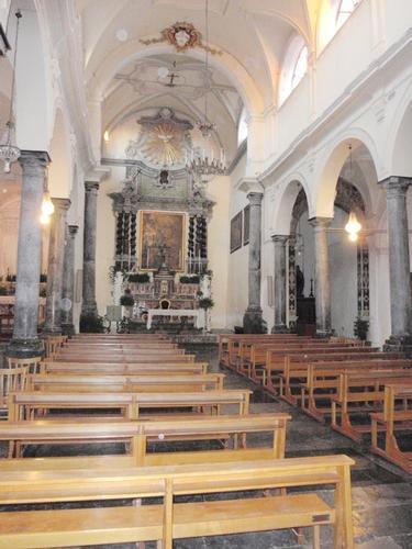 interno chiesa delle Anime Sante del Purgatorio  - Cefalù (1638 clic)