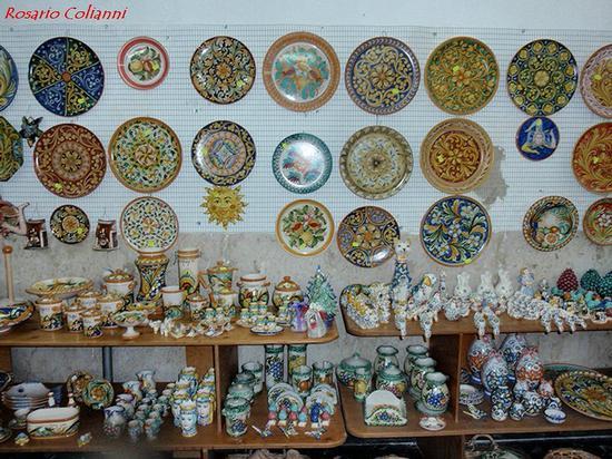 ceramica  - Caltagirone (96 clic)