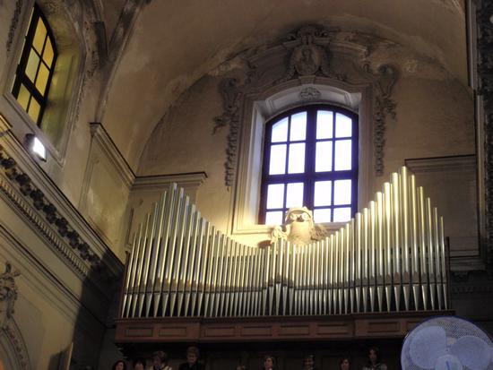 Organo Chiesa dell'Immacolata  - Casteldaccia (2938 clic)