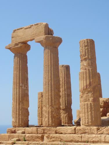 Valle dei Templi - Tempio di Giunone - Agrigento (2364 clic)