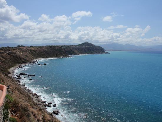 Panorama dal Santuario di Sant'Antonio a Capo Milazzo (2221 clic)