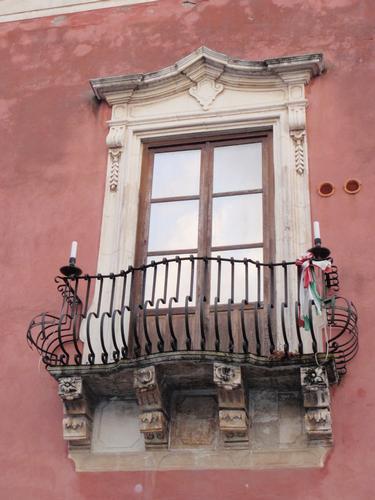 Balcone Monastero del Carmelo  - Milazzo (1594 clic)