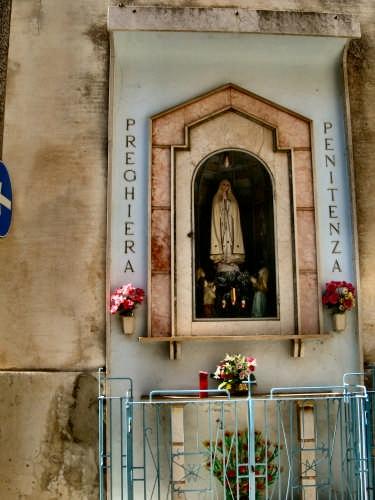 Edicola a Maria   - Calascibetta (3261 clic)