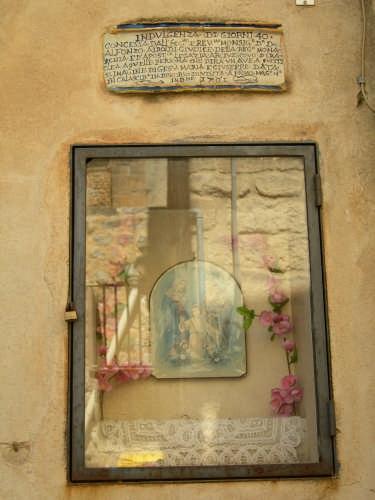 Edicola  dedicata alla Santa Famiglia  - Calascibetta (2876 clic)