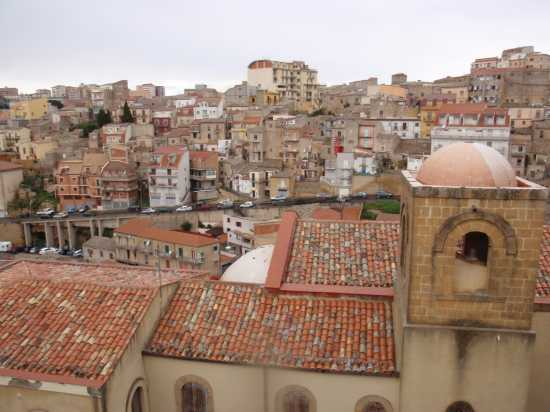 Panorama dal quartiere Valverde - Enna (3443 clic)