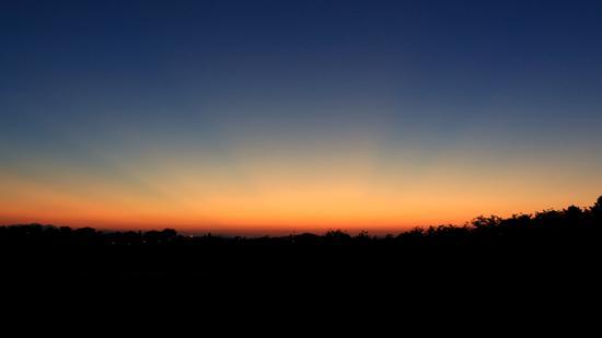tramonti suggestivi - Montefano (410 clic)