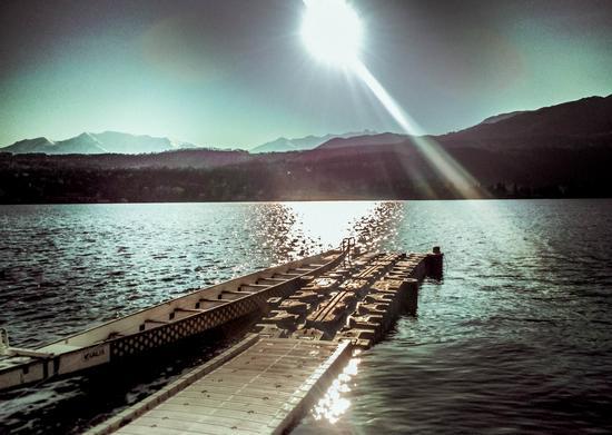 Lago grande molo - Avigliana (310 clic)