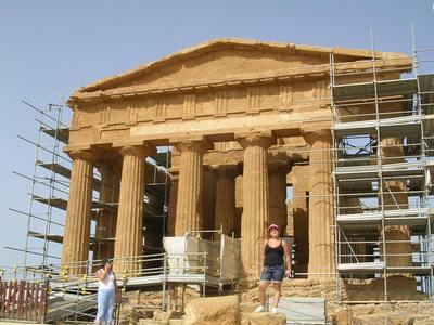 Agrigento - Valle dei Templi (2374 clic)