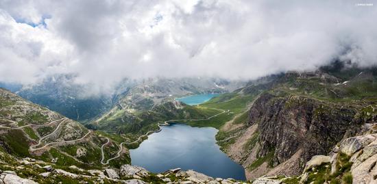 Nivolet nuvoloso - Colle del nivolet (3603 clic)