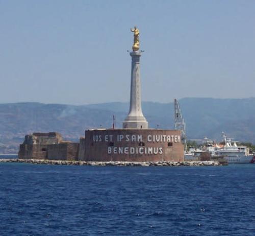 la madonnina del porto di messina (8567 clic)