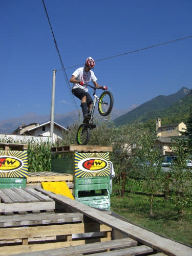 Roby Bike Trial LA PEIRO DOUCO visuale La Chiesa le Alpi - Torino (5214 clic)