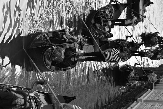 Venezia, Gondole in bianco & nero  (470 clic)