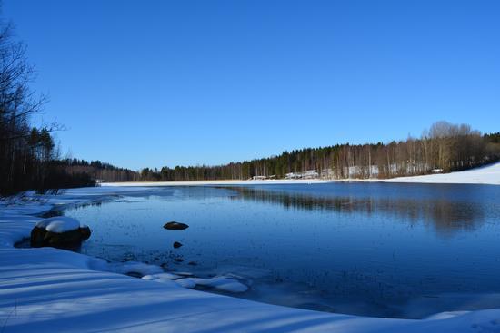 Finlandia, lago e ghiaccio (202 clic)