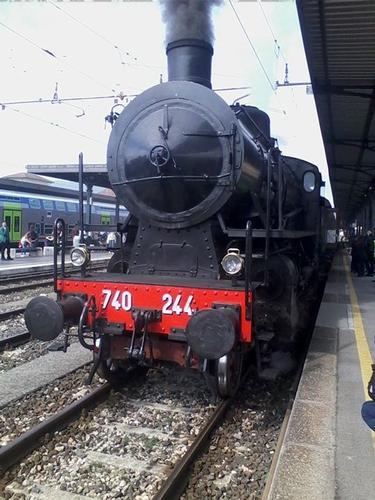 Treno storico diretto da Lucca ad Aulla Lunigiana  (382 clic)