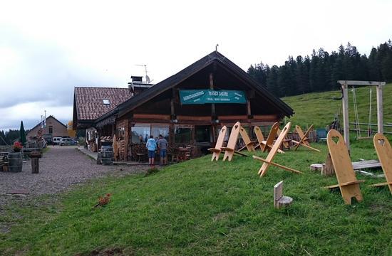 Passo Lavazè Malga Daiano da Nello - Varena - inserita il 11-Aug-16