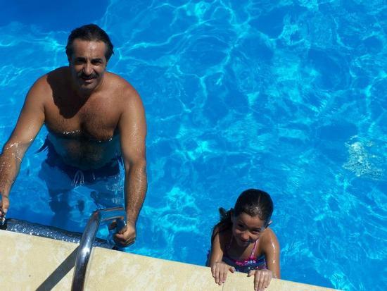 Padre e figlia - Aci castello (575 clic)