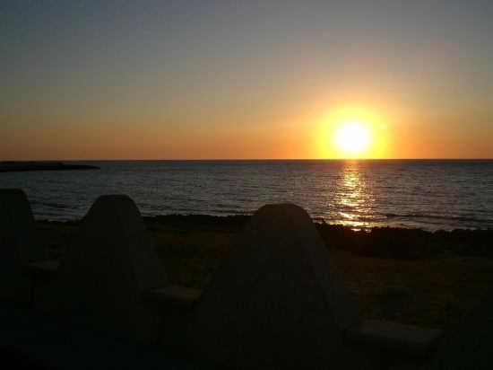 tramonto.... - Cornino (3405 clic)