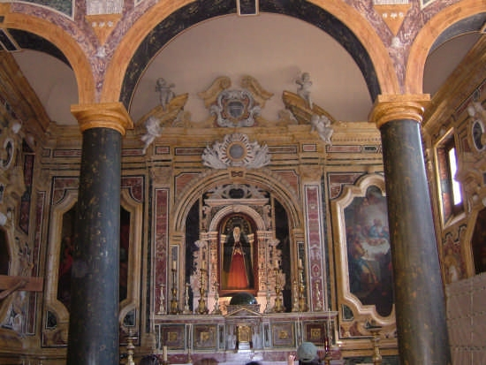 la cappella di Soledad - Palermo (2914 clic)