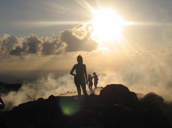 vapori e nuvole..sul vulcano (3290 clic)