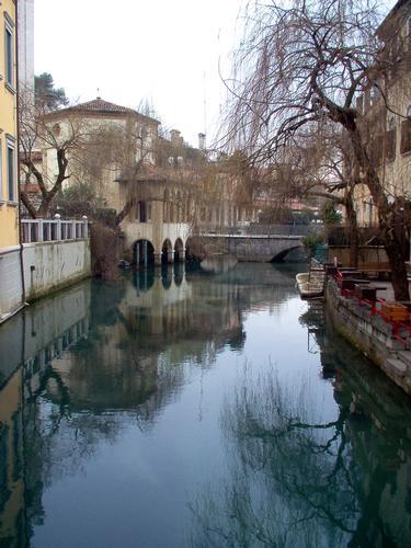 Ponte della pietà e chiesetta  - Sacile (218 clic)
