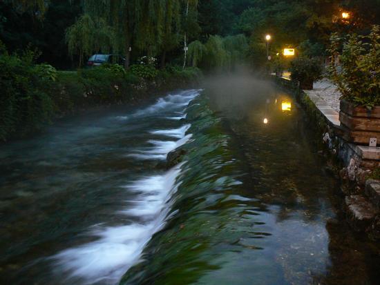 Il Gorgazzo verso il primo ponte - Polcenigo (220 clic)