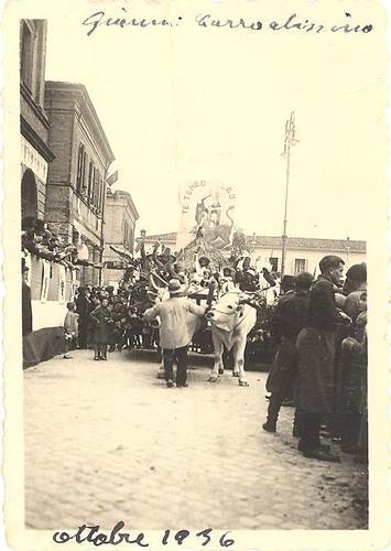 Festa dell'Uva 1936 - Alfonsine (867 clic)