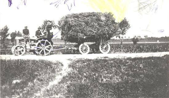 Carro agricolo 1937 - Alfonsine (1001 clic)