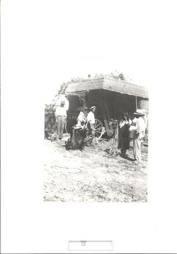 Lavori di trebbiatura 1938 - Anita - inserita il 15-Mar-18