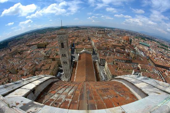 Vista dalla Cupola del Brunelleschi - Firenze (134 clic)