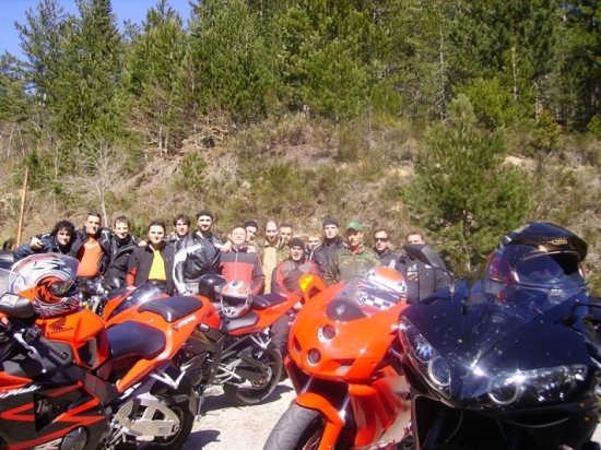 Raduno motociclisti in località Macrocioli - Longobucco (4216 clic)