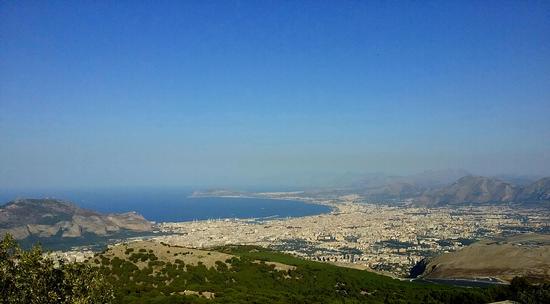 Palermo dall'alto del Billiemi (801 clic)
