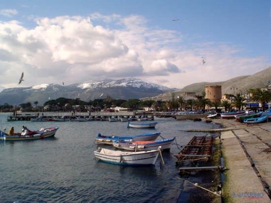 Mondello e la neve di Monte Billiemi (5155 clic)