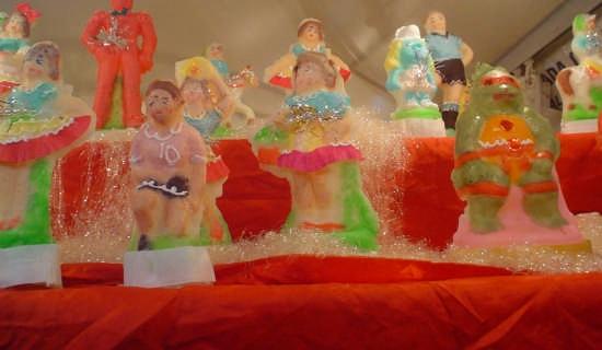 Fiera dei Morti - Pupi di zucchero - Palermo (4637 clic)