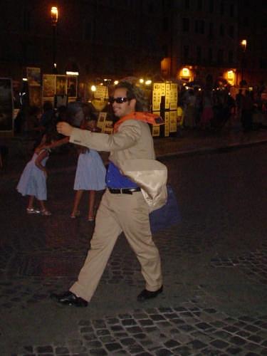 Mimo a Piazza Navona - ROMA - inserita il 17-Sep-08