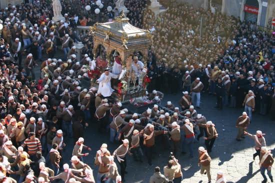 Festa di San Sebastiano - Acireale (5651 clic)