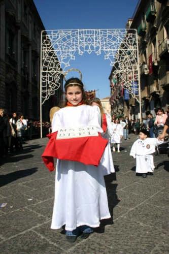 Un angelo per Sant'Agata - Catania (2695 clic)
