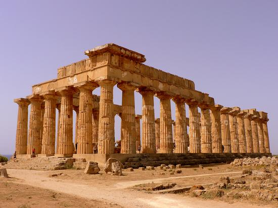 tempio di Hera - Selinunte (3106 clic)