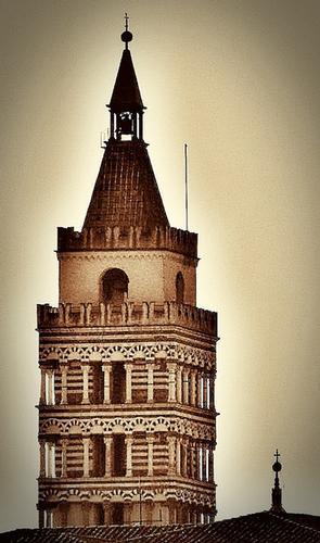 campanile Duomo Pistoia (1923 clic)