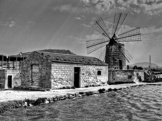 mulino Stella - Saline di trapani (3065 clic)