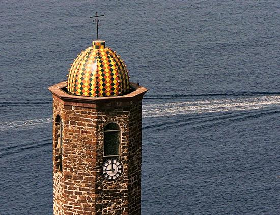 bel campanile in stile aragonese - Castelsardo (5260 clic)
