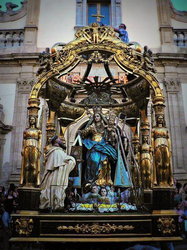 Maria SS. del Carmelo ... patrona di Leonforte (2699 clic)