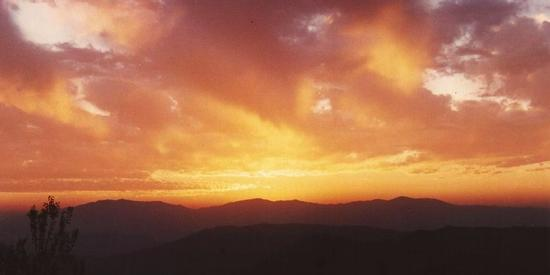 tramonto a Choki Himalaya (991 clic)