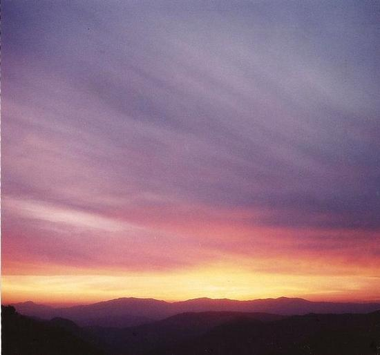 tramonto  a Choki Himalaya (1026 clic)