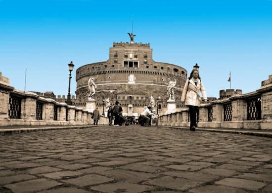 Castel S.Angelo - ROMA - inserita il 04-Dec-08