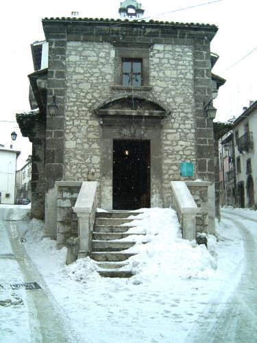 Chiesa S.Maria del Carmine - Pescocostanzo (13225 clic)