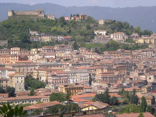 Veduta del centro storico di Cosenza (2542 clic)