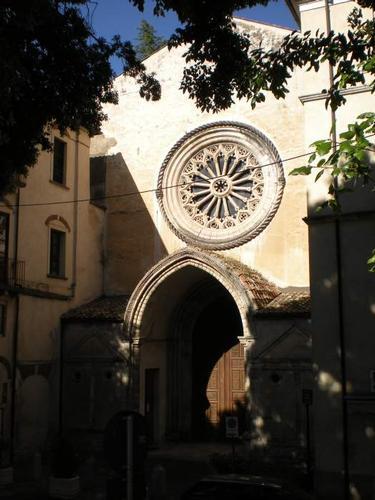 Facciata della chiesa barocca di San Domenico - Cosenza (3387 clic)