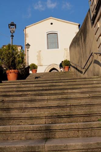 Cosenza - Scalinata di Sant'Agostino (2860 clic)
