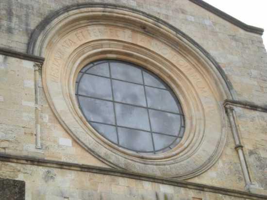 Duomo di Cosenza, particolare rosone (3556 clic)